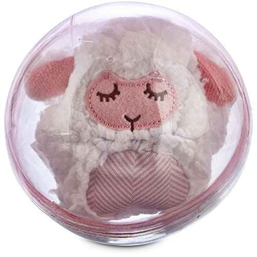 Leaps & Bounds Little Loves Snowglobe Puppy Plush Toy in Assorted Colors, 9
