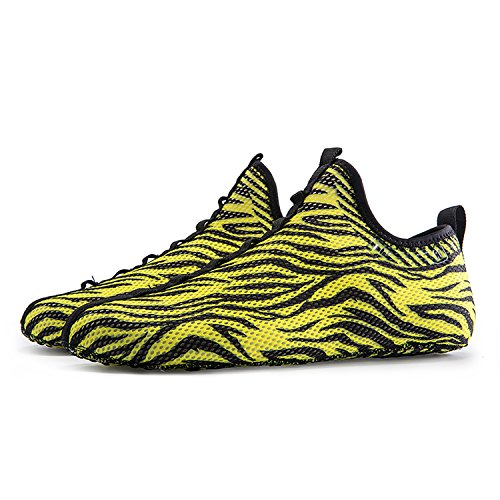 Sock Sneakers Women's Like Walking Sneakers Breathable Lightweight C ONEMIX Men's yellow Shoes Outdoor Swxv88Hq