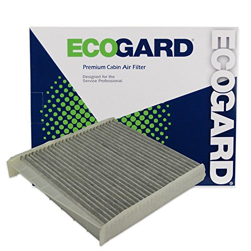 ECOGARD XC45508C Cabin Air Filter with Activated Carbon Odor Eliminator - Premium Replacement Fits Volvo XC90, S60, V70, S80, XC70, (Volvo Parts Catalog)