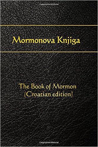 Download gratis bøger i pdf-fil Mormonova Knjiga: The Book of Mormon (Croatian edition) PDB