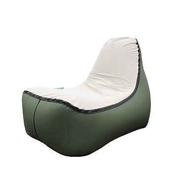 Amazon.com: Hybag Sofá tumbona inflable, cama de aire ...