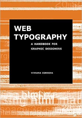 Web Typography A Handbook For Graphic Designers Viviana