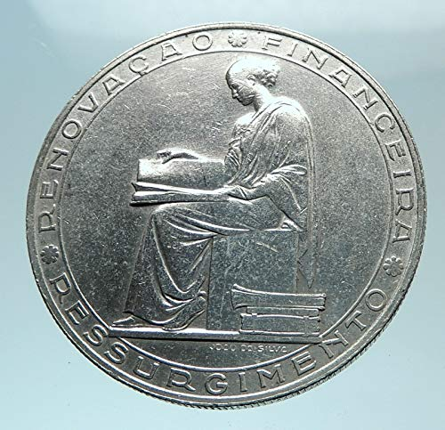 (1953 PT 1953 PORTUGAL 25 Years Financial Reform Proof AR coin Good Uncertified)