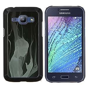 "S-type Profundo Mujer Heartbreak Diseño"" - Arte & diseño plástico duro Fundas Cover Cubre Hard Case Cover For Samsung Galaxy J1 J100"
