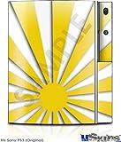 Sony PS3 Skin - Rising Sun Japanese Yellow