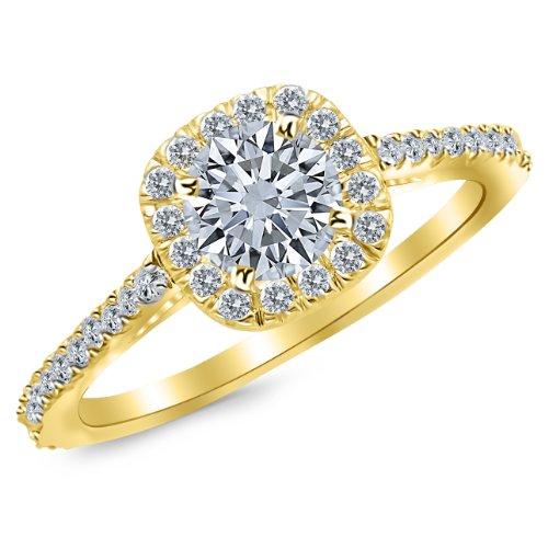 0.45 Ct Round Diamond - 6