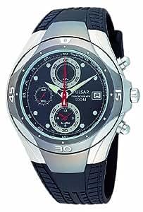 Pulsar PF3131X1 - Reloj analógico de caballero de cuarzo con correa de acero inoxidable negra