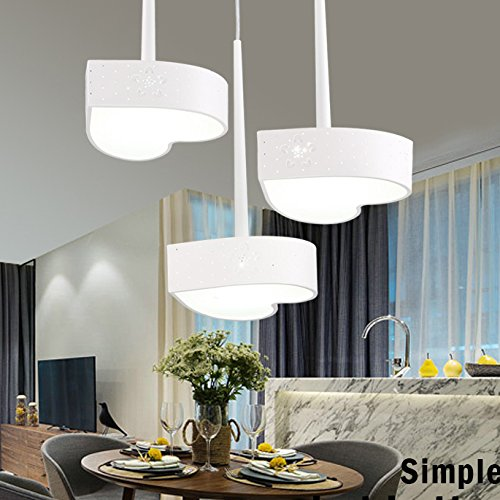 Disc Shaped Pendant Light