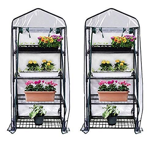 Gardman R687 4-Tier Mini Greenhouse, 27