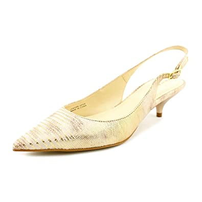3e93b0f6442 Tahari Women s Faye Gold Pump ...
