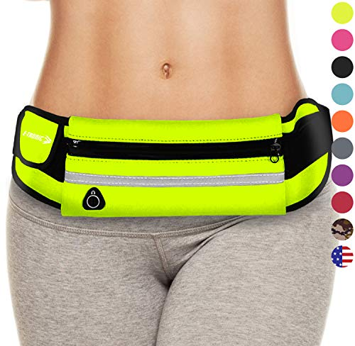 E Tronic Edge Waist Pack Best Running Belt Fanny Pouch Waistband Holder Case (Green) Best Gifts Gift Ideas 2017 Present Cool Stocking Stuffers Stuffer Secret Santa for Girls Women Sports Men Boys
