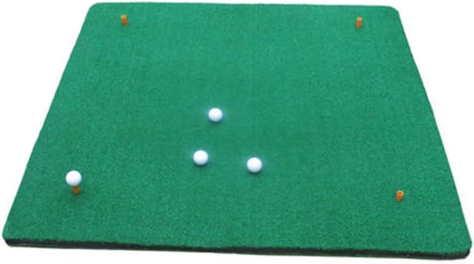 DQMSB Colchonetas de Golf Colchoneta de práctica de Columpio de césped Corto y Profundo de Doble Cara 1 X 1.2 m: Amazon.es: Hogar