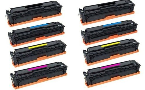 Speedy Toner Compatible Toner Cartridges Replacement for HP 305A CMYK- (8 ()