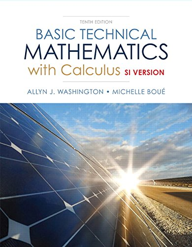 Download Basic Technical Mathematics with Calculus, SI Version (10th Edition) ebook