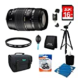 Tamron 70-300mm f/4-5.6 DI LD Macro Lens Pro Kit for Nikon AF with Built-in Motor Includes Bonus Xit 60'' Full Size Photo / Video Tripod, and More