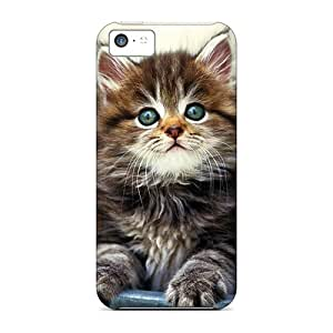 SIi9632kElz Faddish Kitty In A Pot Cases Covers For Iphone 5c