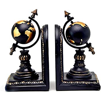 Globe Bookends French Finish GL009F