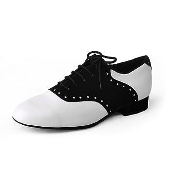 Jig Foo - Zapatillas de baile estándar para hombre, color Negro, talla Talla 39,5 EU