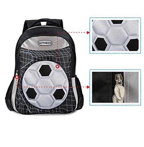 b80d5edba1c8 Football Children School Bags Boys Orthopedic Backpack with Wheels ...