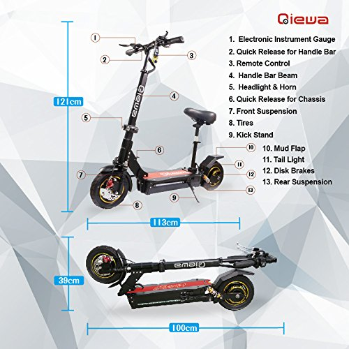 Qiewa fastest Electric Scooter