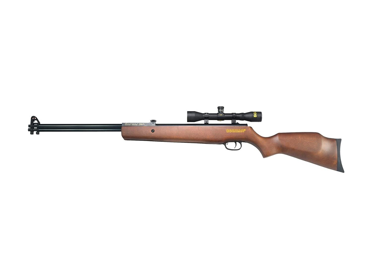 Beeman Sportsman Double Barrel 2016W Dual Caliber Air Rifle Como with 4x32x 40mm