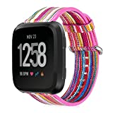 Fitbit Versa Bands, Colorful Strap Replacement Wrist Band...