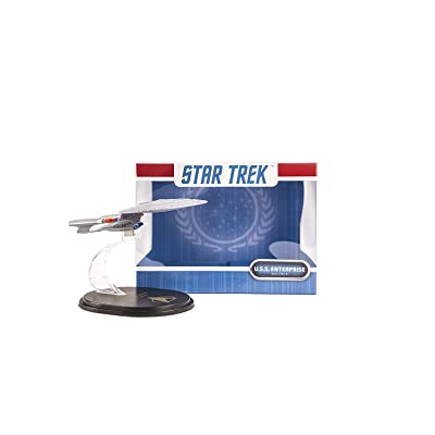 Quantum Mechanix Star Trek The Next Generation: USS Enterprise NCC-1701D QMx Mini Master Ship Replica Toy, Multicolor: Toys & Games