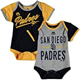 "San Diego Padres Baby / Infant ""Descendant"" 2 Piece Creeper Set"