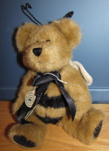 Boyd's Bears Clover L. Buzzoff Retired Bumble Bee Bear Plush