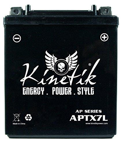 Kinetik 12V 6AH 100 CCA Battery for Honda 250 CMX250C Reb...