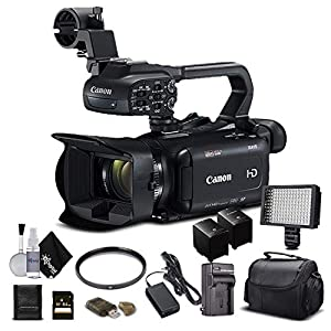 Flashandfocus.com 51e0vrQ5YKL._SS300_ Canon XA11 Compact Full HD Camcorder 2218C002 with 64GB Memory Card, Extra Battery and Charger, UV Filter, LED Light…