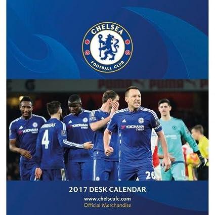 Chelsea Calendario.Chelsea F C Juego De Escritorio Calendario 2017 Oficial