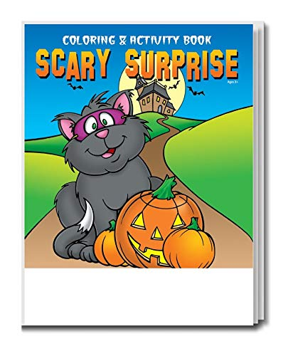 (Scary Surprise Kid's Coloring & Activity Book in Bulk)