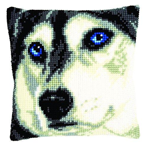 Vervaco Husky Pillow Cover Needlepoint Kit