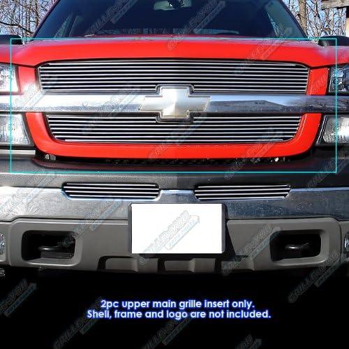 APS Compatible with 2003-2006 Chevy Avalanche 2003-2005 Silverado 1500 Billet Grill S18-A71358C