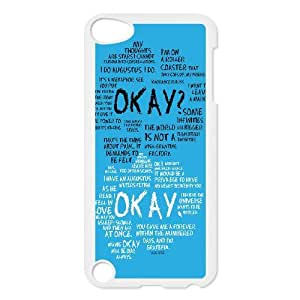 2014 New & Fashion Star Okay the Fault in Our StarsFor Samsung Case For Ipod Touch 5th RCX012690