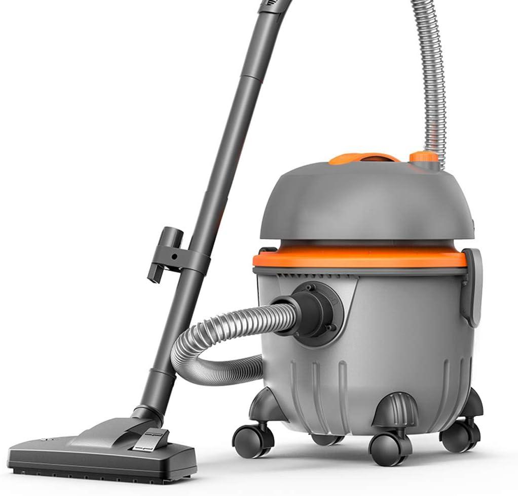 A Vacuum cleaner Aspirador de Barril de Doble Uso en seco/Mojado, 21 Kpa Aspirador Vertical con Bolsa de succión Fuerte Aspirador Vertical con 4 Ruedas, Aspirador con Filtro HEPA: Amazon.es: Hogar