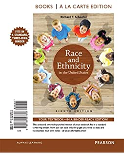 Race and ethnicity in the united states 8th edition richard t race and ethnicity in the united states books a la carte edition 8th edition fandeluxe Gallery