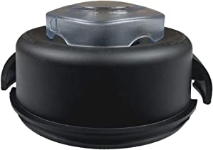 2-Part Lid and Plug for Vitamix 64oz Container Blender Plug and Lid Fit High Profile Containers