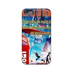 Protector Hard Phone Case For Iphone 6plus (xRZ9320Jcwt) Unique Design Colorful Big Hero 6 Pattern