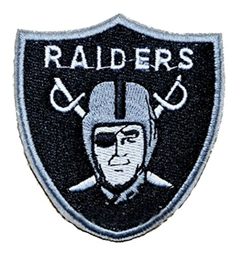 Raiders Applique - Raiders Sew/Iron-on Patch/Applique 3