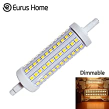 Classic Style Home LED 118mm 120v Dimmable Warm White 10w ---Double Ended Halogen J Type Bulb Replacement,Equivalent to 100W Incandescent Halogen Bulb,Dimmable (1 Pack)