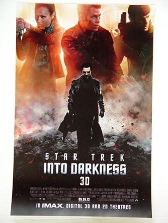 Star Trek Into Darkness 3d Benedict Cumberbatch As Khan With