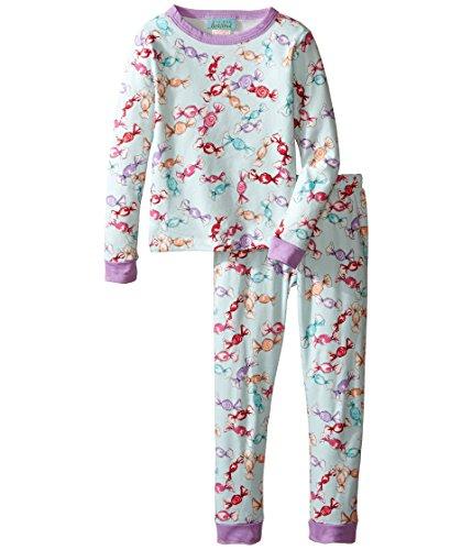 BedHead Kids Girl's Long Sleeve Long Pants Set (Toddler/Little Kids) Taffy Pajama Set 4T (Toddler)