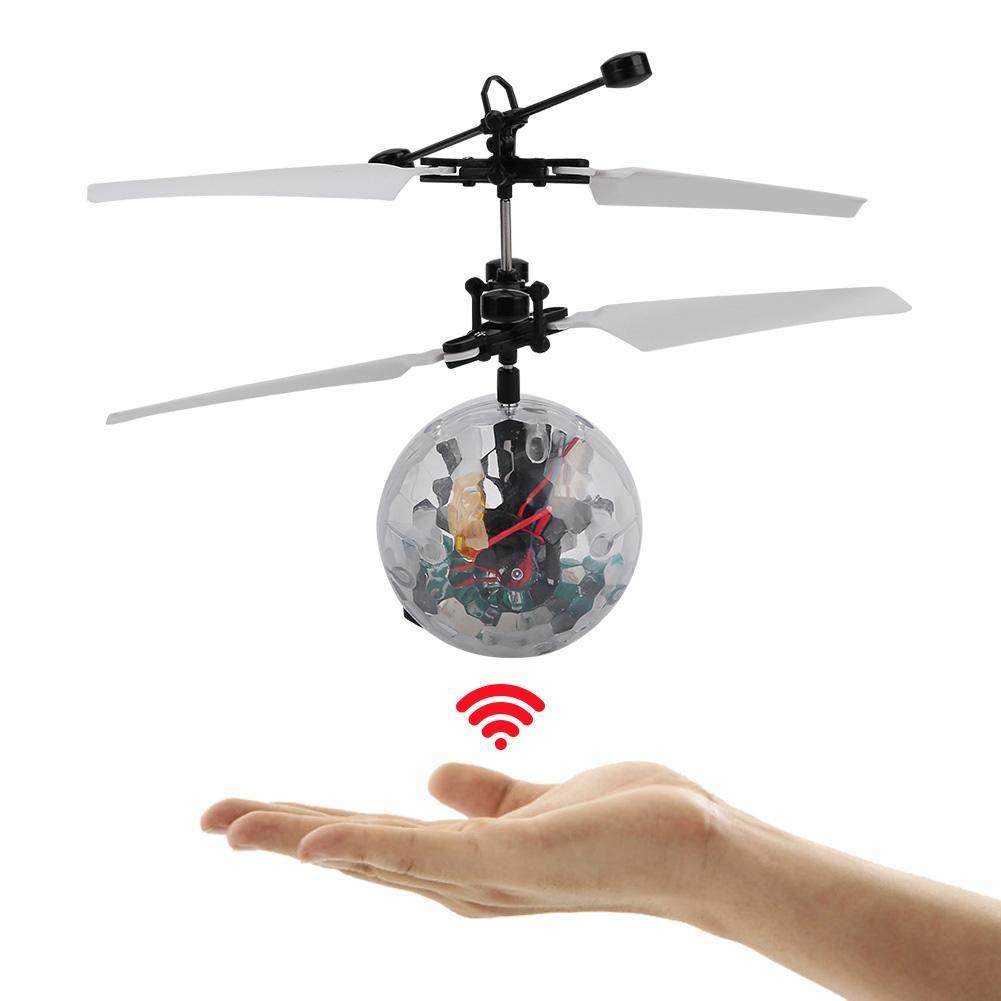 Tbest Juguetes de Bola Voladora, Mini Bola de Inducción Drone ...