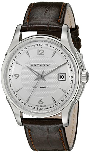 Hamilton Men s H32515555 Jazzmaster Silver Dial Watch