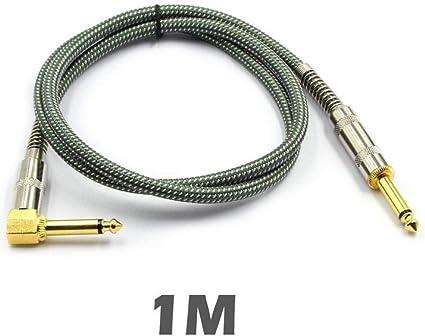 Wan Ning 1 / 4TS Cable Conector para guitarra eléctrica de calidad ...