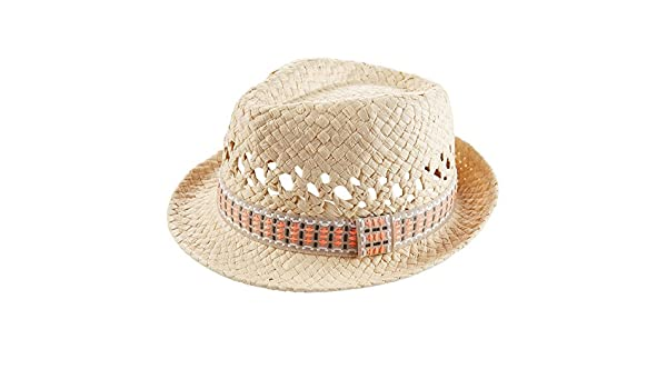 687628819772b Amazon.com  Carter s Baby Boys  Fedora Hat-0-3 Months Ivory  Clothing