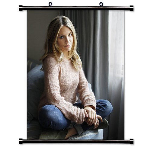 Sienna Miller Model Wall Scroll Poster (32x40) - Model Miller Sienna