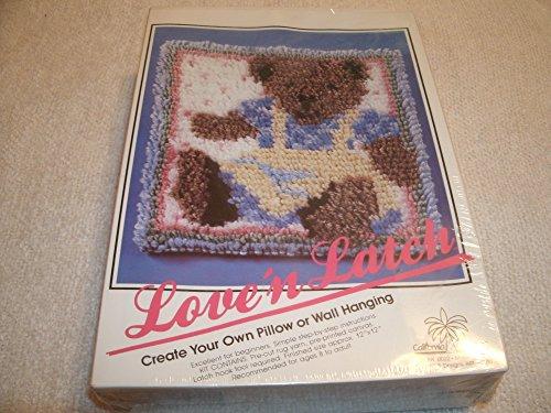 Hook Pillow Bear Latch (Vintage Love 'n Latch 12